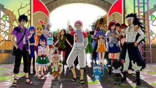 Fairy Tail - Yakusoku no Hi e (opening 14) [Fandub]
