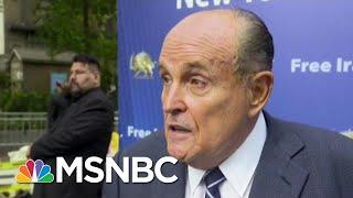 Bombshell Call Log Revealed: Giuliani Traded Calls With White House As Ukraine Plot Unfolded | MSNBC