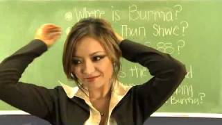 sexy teacher ever - hot hot-  Myanmar Burma It Can_t Wait width=