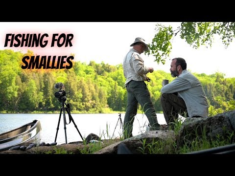 Fishing, Flat Tires and Log Cabin life with Doug and Shawn