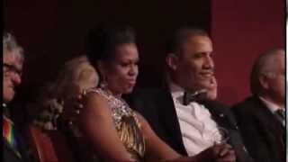 Obama Grooving to Cannibal Corpse [Live]