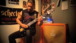 Patrick Olivier - Disturbed/Inside the Fire (Guitar Cover)/with solo.