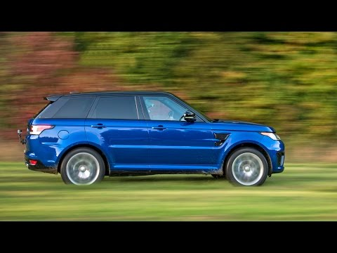 2017 Range Rover Sport SVR - All-Terrain Acceleration Tests