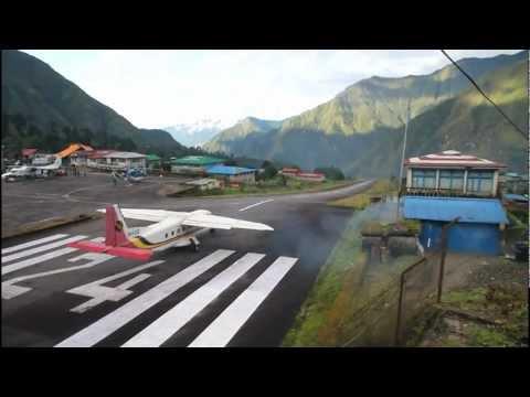 World's Most Dangerous Airport Tenzing-Hillary, Lukla Nepal | TheCheapRoute.com