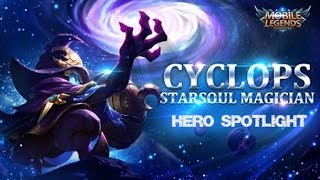 Mobile Legends - Starsoul Magician Cyclops Hero Spotlight