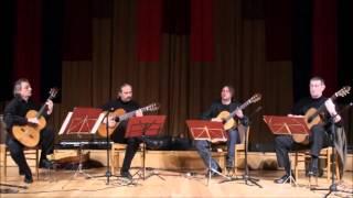 Debreceni Gitárkvartett  - Caballos Blancos (G.Graf Martinez)