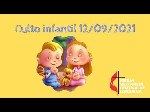 Culto infantil - 12/09/2021