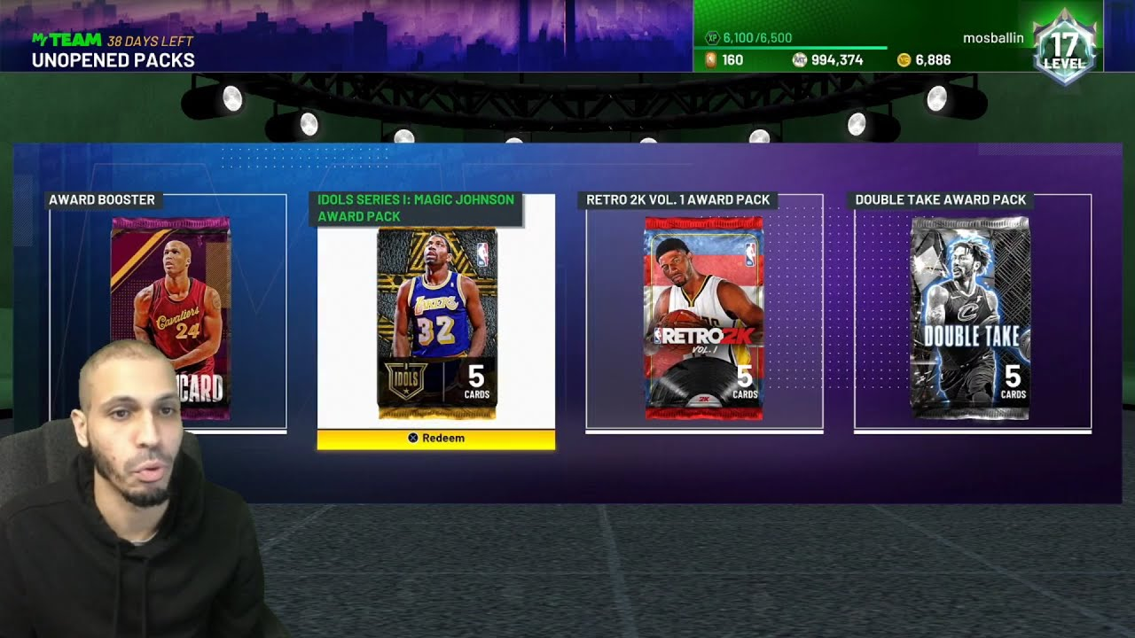 MosBallin - WE PASSED 1 MILLION MT No Thanks to Free Weekly Packs in NBA 2K21 MyTeam! No Money Spent #71