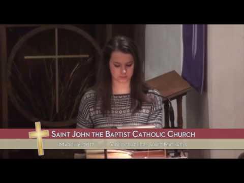 3/6/17 - St. John the Baptist Catholic Church