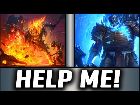FIRE KNIGHT 20 & ICE GOLEM 20! HELP ME HELLHADESSSSSSSSSS!! | Raid: Shadow Legends