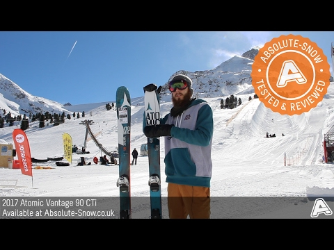 2016 / 2017 | Atomic Vantage 90 CTi Skis | Video Review