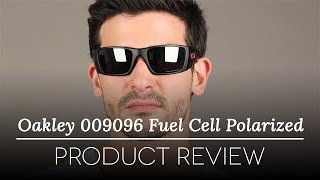 Oakley Fuel Cell Polarized >> Oakley Oo9096 Fuel Cell Polarized 909605 Sunglasses In Black