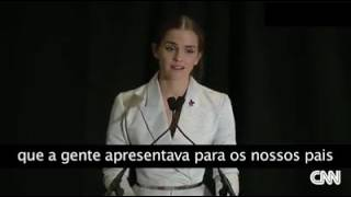 Emma Watson!! Falando sobre feminista