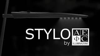 AEC present STYLO The new luminaire for urban road lighting