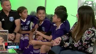 El equipo infantil de fútbol Azzurri Storm del SWFL nos visita y nos habla de sus logros