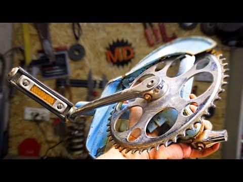 Не выбрасывайте эту деталь от велосипеда! Идея для самоделки своми руками! photo