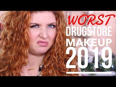 WORST Drugstore Makeup 2019