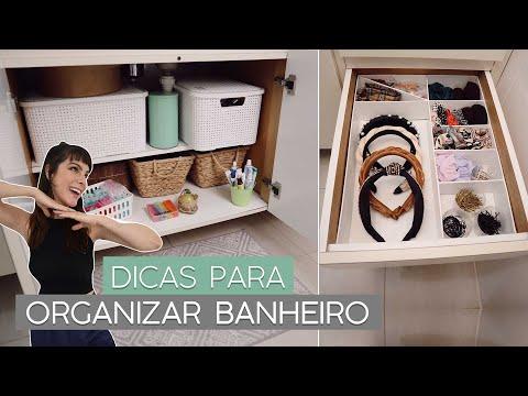 DIY Organizando o banheiro!! (Divisórias para gaveta + armário embaixo da pia)