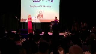 Winner Employee of the Year Award Ceremony - Cindy Newnham