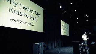 Alex Osterwalder on Failure
