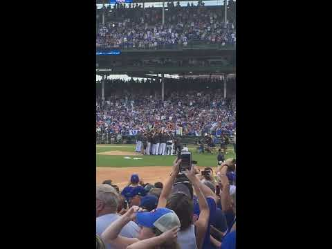 Cubs vs. Brewers - September 16, 2016 - Post Game Celebration
