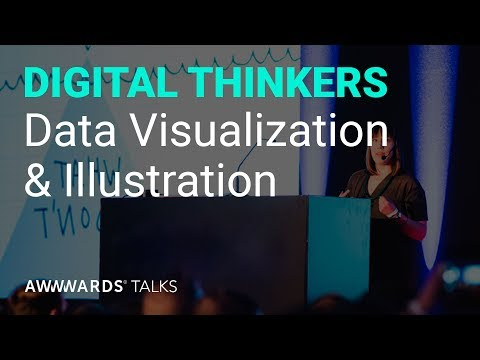 Talk: Stefanie Posavec on Data Visualization at Awwwards Conference London