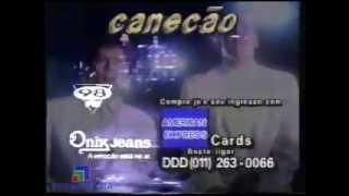 Comercial Leandro e Leonardo - Canecão (1991)