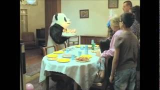 nunca diga não ao panda , em aniversário e no campo ou parque