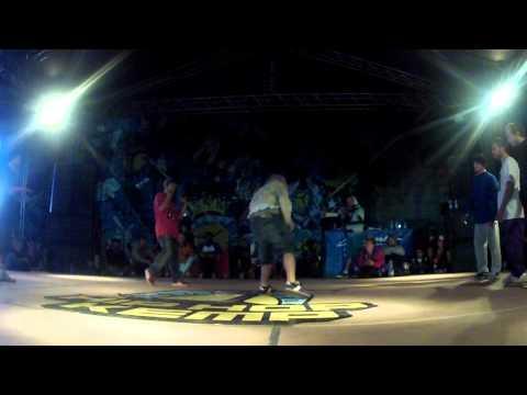 Hip-Hop Kemp 2012 Semi final 3vs3 Top 9 (Russia) vs East Side Bboys(Ukraine)
