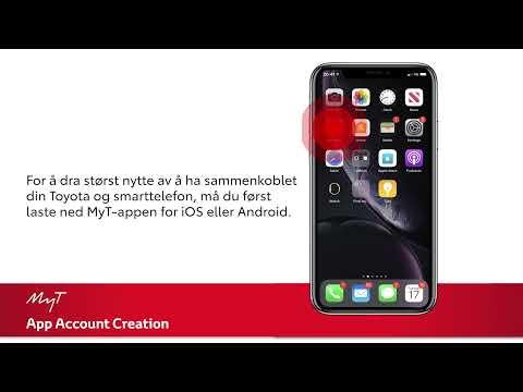 Sett opp en MyT app-konto