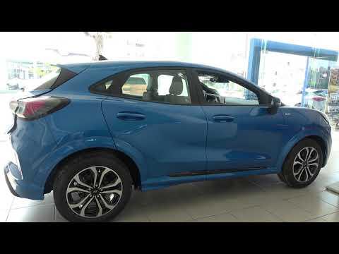 The 2020 Ford Puma STLine 1.0 interior exterior walkaround