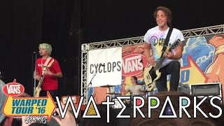 Crave - Waterparks - Warped Tour 2016 - Hartford, CT