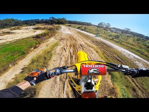 Squid Learns Motocross on RMZ250