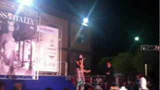 "MARIKA CECERE _( L'amore e Femmina ) Alle Selezioni ""Miss Italia"" Regionali"