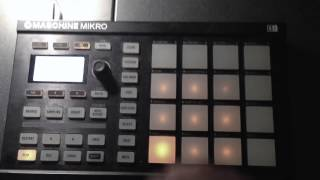 Wet Dreamz Beat Remake on Maschine Mirko