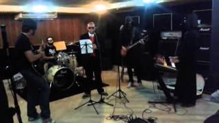Ensaio da banda Monstrance Clock - Stand By Him (Ghost cover)