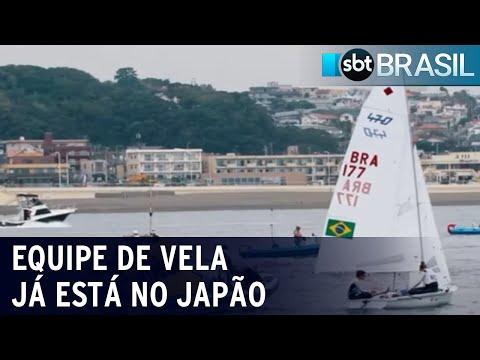 Vela é esporte que deu ao Brasil maior número de medalhas de ouro nos jogos | SBT Brasil (17/07/21)