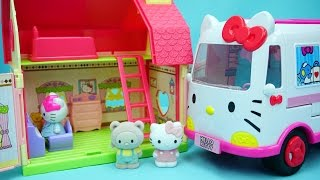 Hello Kitty 凯蒂猫的小别墅 迪士尼 玩具