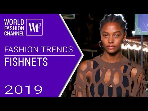 Fishnets | Fashion trends spring-summer 2019