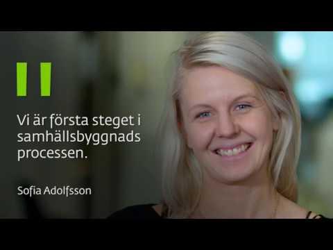 Förrättningslantmätare Sofia Adolfsson