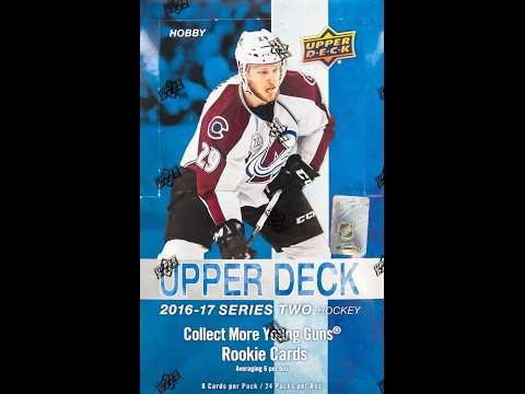 Box Busters: 2016-17 Upper Deck Hockey Series 2