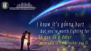 Nightcore | Rico & Miella X TELYkast - Worth Fighting For (Especial 50 Subs) | Lyric and Sub Español
