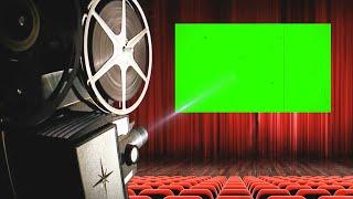 Projetor de Cinema #1 - Movie Projector #1 / Green Screen - Chroma Key