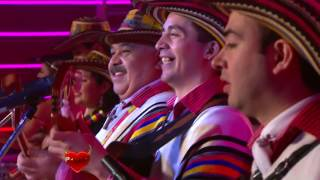 Mensajeros de Colombia en Pasión de Sábado - La banda borracha - La burrita 8 7 2017   YouTube 1080p