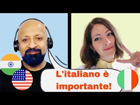 IMPRENDITORE AMERICANO spiega PERCHÉ imparare l'italiano è FONDAMENTALE | Mahesh, CTO di BlockFi 🇺🇸