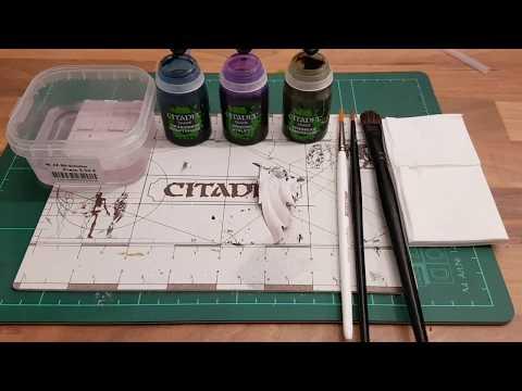 Warhammer / Tabletop für Anfänger HD★ Shade Pinsel, erklärt/Funktion/ Besonderheit ★ How to paint