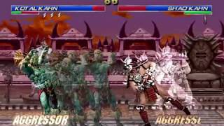 Mortal Kombat: Shao Khan vs Kotal Khan