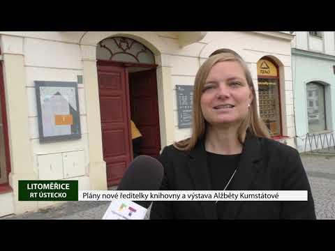 Plány nové ředitelky knihovny a výstava Alžběty Kumstátové