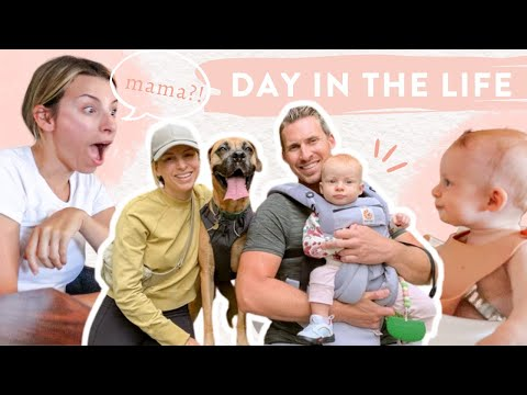 WEEKEND VLOG: Day In Life as a Family + Baby's First Pancakes!