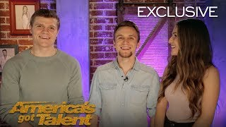We Three Share Secrets From Their Emotional Performance - America's Got Talent 2018